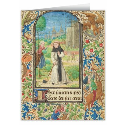 St.Fiacre's Trench Blank Note Card Pack of 6