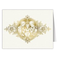 Holy Family Blank Note Card Pack of 6