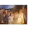 Adoration of the Christ Child Pack of 25 Blank Note Cards w/ Envelope