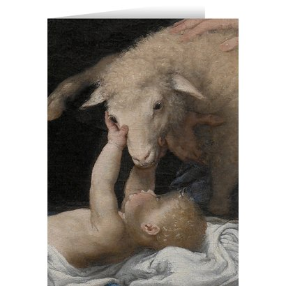 Adoration of the Shepherds Pack of 25 Blank Note Cards w/ Envelope