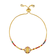 Our Lady of Guadalupe Micro Adjustable Slip Bracelet