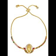 Virgin Mary Adjustable Slip Bracelet