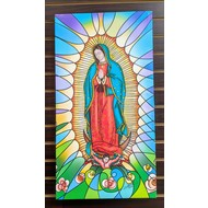 Our Lady of Guadalupe, 16x30