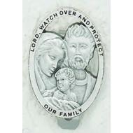 Auto Visor Clip Holy Family