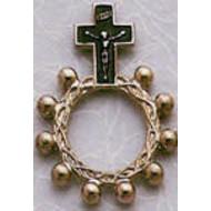 Black Rosary Ring