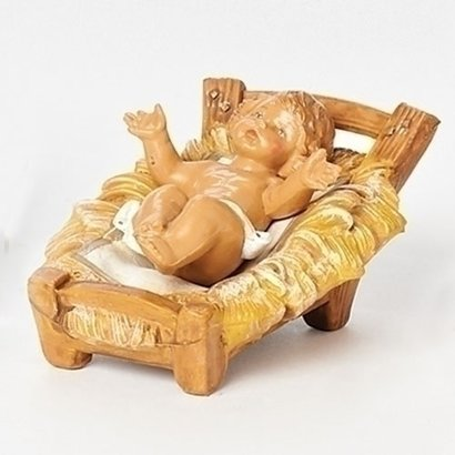 """5"""" Scale Fontanini Infant with Manger"""