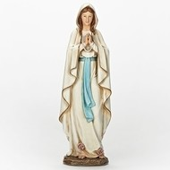"13.5""H Our Lady of Lourdes Statue"