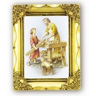 St. Joseph the Worker Gold Frame