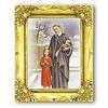 St.Vincent 3x2 Gold Frame