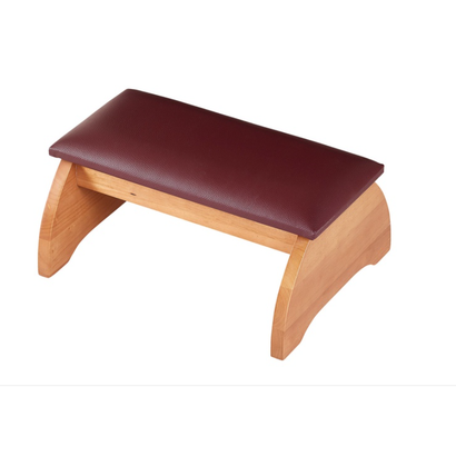 Padded Personal Kneeler Pecan Finish
