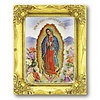 Our Lady of Guadalupe 3x2 GoldFrame