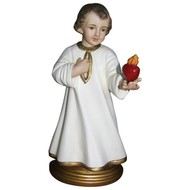 """Divine Child with Heart 8 3/4""""H"""