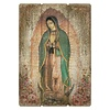 """27""""H Our Lady Of Guadalupe Pallet Sign"""