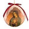 Our Lady of Guadalupe with Roses Decoupage Ornament single