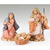 "5"" Scale Fontanini 3 Pc Set Centennial  Holy Family"