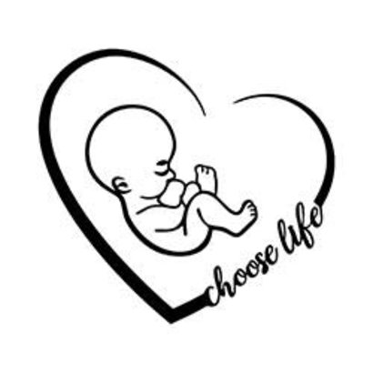Choose Life Auto Decal.