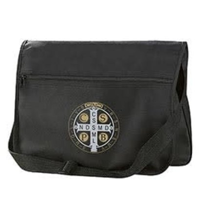 St. Benedict Messenger Bag - 2/pk