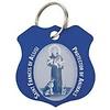 St. Francis Blue Pet Medal