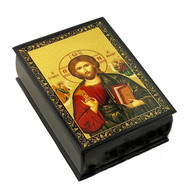 Christ Pantocrator Icon Box