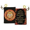 """Holy Spirit"" Bernini Inspired Confirmation Keepsake Tapestry Pouch - Black/Red 5.5'W x 4'H"