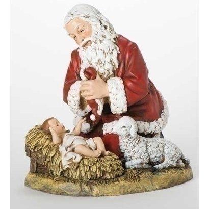 "Kneeling Santa 13"""