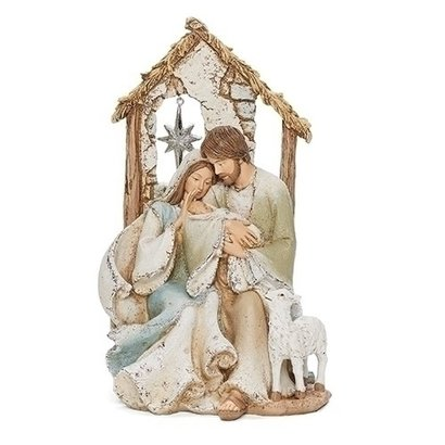 """Holy Family With Star In Window 9.25"""""""