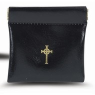 Black Snap Rosary Case