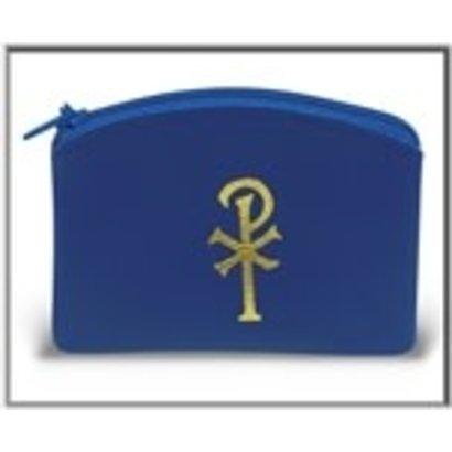 Blue rosary case