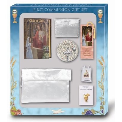 Child of God Girls First Communion Gift Set
