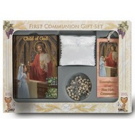 6 piece deluxe girls first communion Set