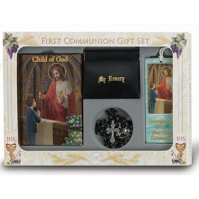 Boys Deluxe Communion Set