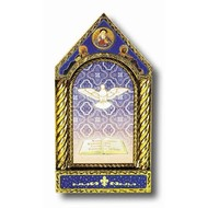 Holy Spirit Shrine 6x3 Boxed Gold Embossed