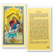 O.L. of Loreto House Prayer Holy Card