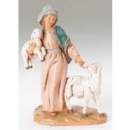 "5"" Rhoda Shepherdess Nativity Figure"