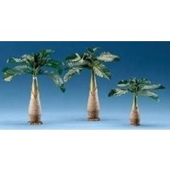 "8""H 3PC Set Palm Tree for 5"" Scale Nativity Figures"
