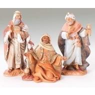 "Fontanini® 5"" Scale 3 pc Set Kings Nativity Figures"
