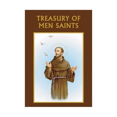 Aquinas Press® Prayer Book - Treasury of Men Saints -