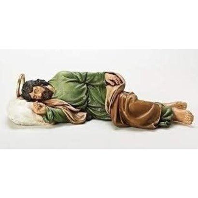 "Sleeping St. Joseph Figure, 5.5"""