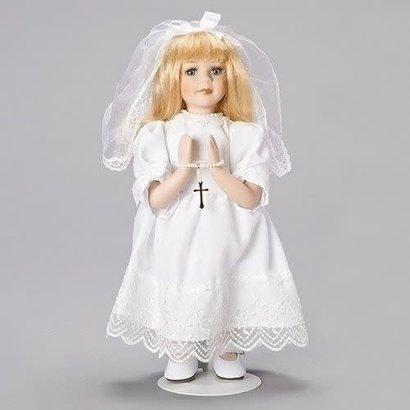 "12""H Blonde Communion Figure"