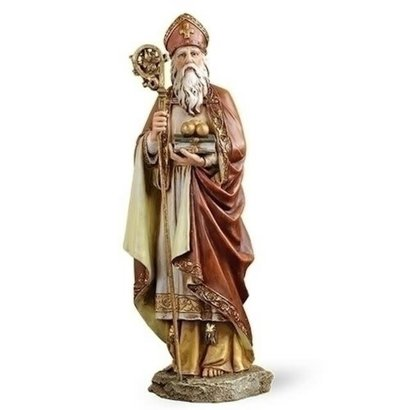 """10.5""""H St. Nicholas Figure Renaissance Collection"""