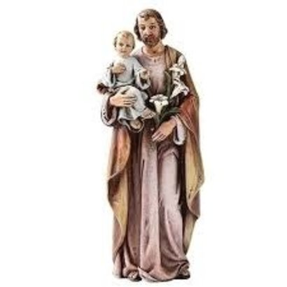"""4""""H St. Joseph Figure Renaissance Collection"""