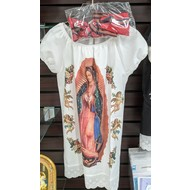 Our Lady of Guadalupe Dress and Hair Ribbon