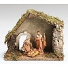 """Nativity Set with 3 Figures, 5"""""""