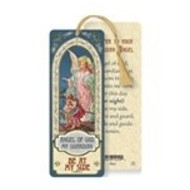 Guardian Angel Laminated Bookmark with Tassel