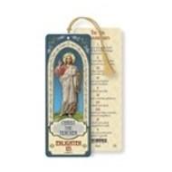 Christ The Teacher Laminated Bookmark with Tassel