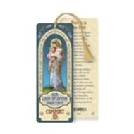 Our Lady of Divine Innocence Laminated Bookmark with Tassel