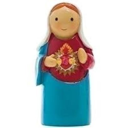 "3.25"" H Immaculate Heart of Mary"