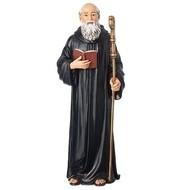 6.225h St. Benedict statue