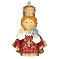 Little Patrons: Infant of Prague 3.75""