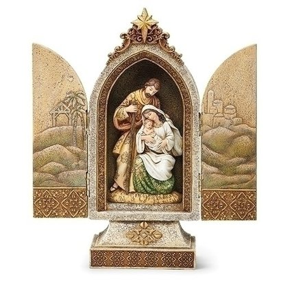 12.25 H Holy Family Triptych
